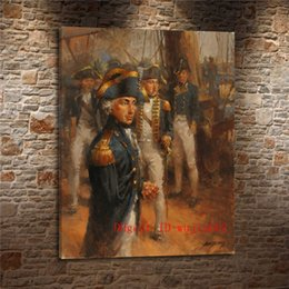 impressionismo pintura a óleo Desconto Horatio nelson, Pintura em tela Sala de estar Decoração de Casa Modern Mural Art Pintura A Óleo