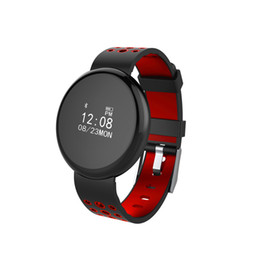 Exibição de relógio oled on-line-Relógio inteligente 0.66 polegada display OLED de oxigênio no sangueHeart Rate Monitoramento de Sono IP68 Profissional à prova d 'água smartwatch