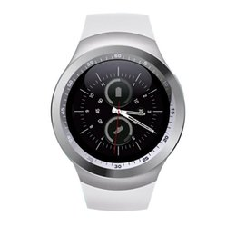 Wholesale Apple Stockings - Smartch Y1 Smart Watch Support Nano SIM Card and TF Card Smartwatch PK GT08 U8 Wearable Smart Electronics Stock For iOS Android