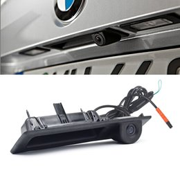 Wholesale Bmw F25 - CCD HD Car Trunk Handle Camera Rear View Camera for BMW 3 5 Series X3 F10 F11 F25 F30 New Parking Backup