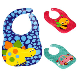 Wholesale Cheap Bibs - Cheap Newborn Girls Boys Baby Bibs Eva Waterproof Bandanas Feeding Convenient Saliva Towel Babador Baberos Saliva Bavoir Towel