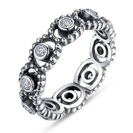 Wholesale Cute Beautiful Ring - New High Qulity 2 Styles Mixed STYLES SIZES 925 sterling Silver fashion charm Beautiful cute Wedding ring engagement rings midi rings