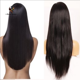 Wholesale india price - Dropshipping straight india hair wig cheap price full lace wigs