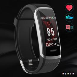 a4f2efd97 2019 mejores relojes inteligentes Hot Top GT101 Fitness Tracker Reloj TFT  Pantalla a color Pulsera Bluetooth