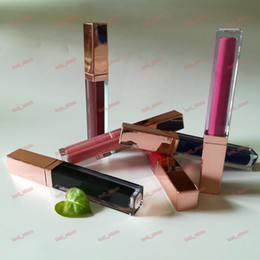 Wholesale Glossy Print - no logo 222 color Soft Matte Lip Cream Lipstick Makeup Charming Long-lasting Daily Party Brand Glossy Lipsticks Lip Gloss welcome logo print