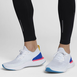 Wholesale popular shoes for men - 2018 Popular Top Epic React Instant Go Fly Breath Comfortable Sport EPIC Running Shoes Cheap For Sale Women Men Athletic Sneakers
