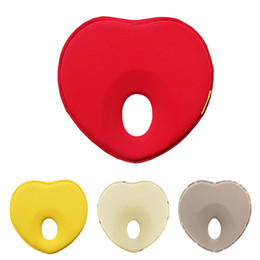 Wholesale head correction - Newborn Memory Pillow Prevention Flat Head Correction Head Shaping Heart-shaped Pillow for 0-18 Months Baby Comfortable Sleeping
