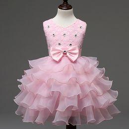 Çiçek Kız Elbise Yeni Doğan Bebek Kız Elbise Çok Katmanlı Lüks Bebek Elbise Vaftiz Balo Kızlar Tutu Prenses Gelinlik nereden