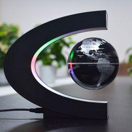 2019 decoração levitação magnética Levitação magnética globo tipo C 3 polegada luminescente novo negócio especial decoração da casa prático artesanato férias presente criativo desconto decoração levitação magnética