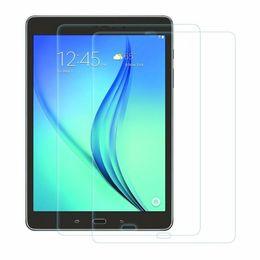 2019 polvo de la tableta Película protectora de vidrio templado para Galaxy T380 T385 T560 P580 T580 T280 Tab S3 9.7 T820 T825 S4 10.5 T830 835 Tablet PC con toallita absorbente de polvo polvo de la tableta baratos