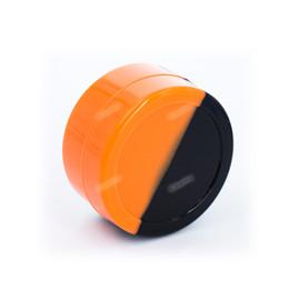 Jarra grande de cera online-Más barato 5 unidades 22mL Grandes contenedores redondos de silicona Antiadherente Slick Silicone Jar Dabs Contenedores de cera FDA Cajas de silicona para cera