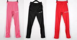 Canada Palm Angels Pantalons Femmes Hommes Haute Qualité Joggeurs Hip Hop Streetwear Arc-En-Ciel Exclusif Cordon Pantalon De Survêtement Pantalon supplier women hip hop pants Offre