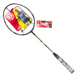 208c51487 raquete de raquete Desconto Raquete de Badminton com Fibra De Carbono Raquete  de Ataque Forte Para