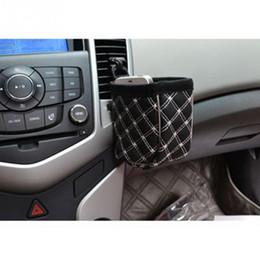 Armazenamento inteligente de sacos on-line-PU de Couro Upholstery Tomada Sundries Saco de Telefone Inteligente Luva Do Telefone Móvel Titular Car Kit Saco De Armazenamento