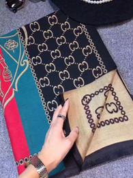 Wholesale Design Scarfs - TOP Quality Women Scarf Luxury Brand design Neckerchief 180x70cm Winter designer Brand Warm Soft Shawl Wrap Scarves 2 style chose A201