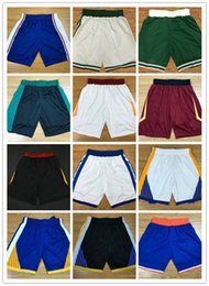 Wholesale Performance Logos - Cheap 2018 New Season Authentic Performance Men Basketball Shorts 35 kevin durant 30 stephen curry Mens Short Stitched Logo Best Quality