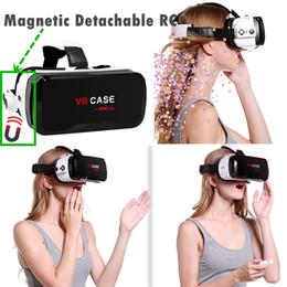 iphone bleu 3d case Promotion Cas VR VR 6.0 Casque avec console Anti Blue Ray Verres Lunettes de réalité virtuelle pour Iphone Samsung 360 Visualisation 3D Lunettes