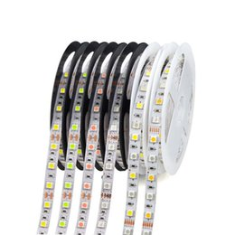 Wholesale Led Lights Strips For Homes - LED Strip Light 12V SMD3528 5050 5630 300led Strip Non-waterproof Ribbon For Flexible strip Home Bar Decor Lampada Led 5M roll RGB