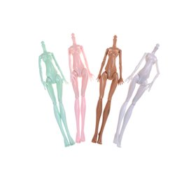Wholesale Plastic Doll Bodies - DIY Imitation Demon for Monster Dolls Naked Body Without Head For Monster Dolls Fairytales Joints Doll Bodies