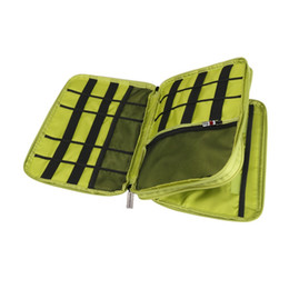 Wholesale Charger Storage Box - Universal Double Layer Travel Gear Storage Box Organizer   Electronics Accessories Bag   Battery Charger Case