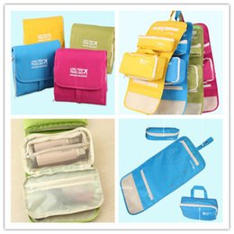 Wholesale Care Fresh - Fashion makeup bags 3 in 1 multifu cosmetic storge bags Folding Separate travel wash gargle personal care bag set Waterproof Outdoor tourism