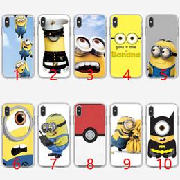 Despicable Me Sarı Minion Yumuşak Silikon TPU Telefon Kılıfı için iPhone 5 5 S SE 6 6 S 7 8 Artı X XR XS Max Kapak nereden