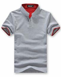 Wholesale Mens Wholesale Polo Shirts - Mens Cotton Multi Color Polo Shirt Short Sleeve Plain T Shirts Mens Polo Shirts Black Size M-3XL