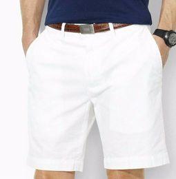 Calções de algodão de alta qualidade dos homens calções masculinos casuais shorts de pônei masculino tamanho M-XXXL de