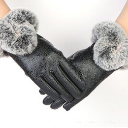 Pudi Gf705 Hand Made Knitted Winter Fur Fabric Real Rabbit Fur Glove Gloves Mittens Mit Handwear Back To Search Resultsapparel Accessories