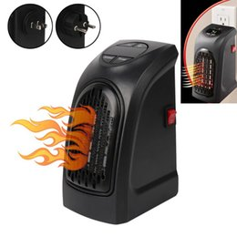 Wholesale Heater Bathroom - Mini Handy Heater Plug-in Personal Heater Home Use The Wall-outlet Space Heater 350W Hotel Kitchen Bar Bathroom Handy Heaters