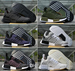 5241856a29934 peach table runners Promo Codes - 2018 Hot NMD R1 Primeknit Perfect  Authentic Running Sneakers Fashion