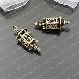 Wholesale Antique Lanterns - (25569)Alloy Findings,charm pendants,Antiqued style bronze tone Antique lanterns 6PCS