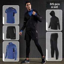 conjuntos de ropa deportiva para hombres Rebajas Vansydical sport suit  hombres suéter ropa interior Fitness Men s 952113140542