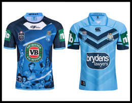 Wholesale wales rugby jersey - Free shipping 17 18 19 NSW Origin Jersey 2018 Classic New South Wales Blues State of Origin Rugby Jersey New South Wales Blues State Rugby