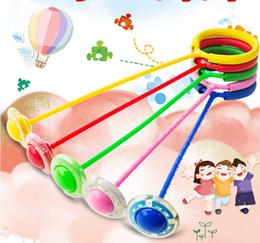 2019 brinquedos que saltam bolas Luminosa Crianças LED Saltando Bola De Fitness Flash Ir Bola Tornozelo Salto Bola Brinquedo desconto brinquedos que saltam bolas