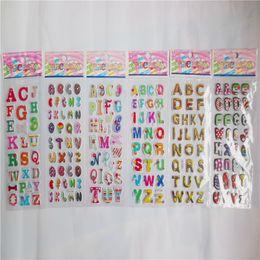 Korea Design Funny Bugs Bubble Stickers for Diary Children Kids Reward Toys ^