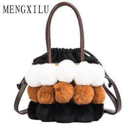 07e9a96f0d Women Fur Winter Handbag Luxury Handbag Women Bags Designer Patchwork Faux  Fur Female Crossbody Bag High Quality Bolsa Feminina