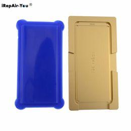 Машина для ремонта прикосновений онлайн-iRepair-You Mold Mould Silicone Pad Mat For S8 S7 S6 Edge Plus Note 8 LCD Touch Screen Repair Machine Laminator Location