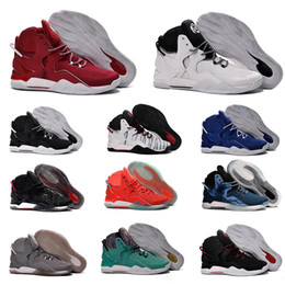 Wholesale Free City Shoes - Wholesale 2018 Rose 7 Florist City Rose 7 Men Basketball Shoes Derrick White Black Red Green Men Outdoor Sports Sneaker 40-46 Free Shipping