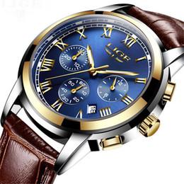 Wholesale Mechanical Automatic Tungsten Men Watch - Watches Men Brand Chronograph Men Sports Luxury Watches Waterproof Full Steel Quartz Men's Luminous Business Mechanical Automatic Watches