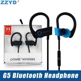 ZZYD для iP8 X Xs Max Samsung Note8 S8 G5 Bluetooth-гарнитура для наушников для беспроводного наушника Стандартная конфигурация Bluetooth-гарнитуры Bluetooth от