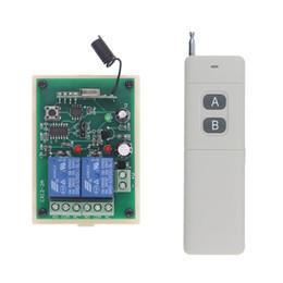 3000m Wide Range DC 12V 24V 2 CH 2CH RF Wireless Remote Control Switch System,315 433 MHz,Transmitter + Receiver