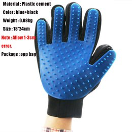 Wholesale Bathing Table - Silicone Pet brush Glove Deshedding Gentle Efficient Grooming Cat Glove Dog Bath Pet Cleaning Supplies Pet Glove Dog Accessories