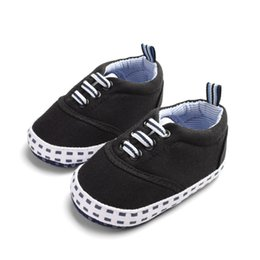 Baby Boy The First Walker Shoes Baby Girl Solid Color Elastic Band Cotton Shoes  Small Square Printing d1d4cff88645c