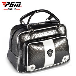 used clothes bags Promo Codes - YWB007 Manufacturer PGM ladies Golf shoes women bag Daily Use PU Clothing Articles Package designer Factory Genuine sports
