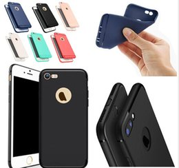 2019 cores telefone iphone Magro macio tpu silicone case capa candy cores matte phone cases shell com tampa de pó para iphone x 8 7 6 6 s plu 5s desconto cores telefone iphone