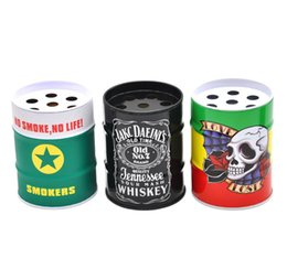 Wholesale Personalized Pens Wholesale - Fashion personalized ashtray creative Bucket Ashtray stainless steel character pen