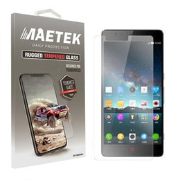 Wholesale Zte Grand X Screen - 2.5D 9H Tempered Glass Screen Protector For ZTE Fanfare 3 Grand X5 Prelude + Z851 Overture 3 Blade X N956 Blade Force Warp 8 N9517 Avid 4