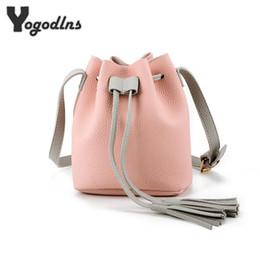 Wholesale Bucket Organizer - PU Leather Handbag Cheap Crossbody Handbags Organizer Small Cute Bucket Bag Messenger Women Feminina Bags Bolsos
