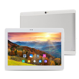 Wholesale Metal Case Tablets - new 10.1 inch Metal case tablet PC Octa Core RAM 4GB ROM 64GB 2560X1600 IPS Dual sim card Phone Call Tablet PC Android 6.0 GPS 3G